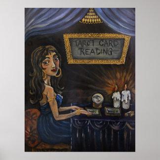 Tia The Tarot Card Reader Poster