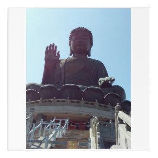 Tian Tan Buddha Acrylic Print