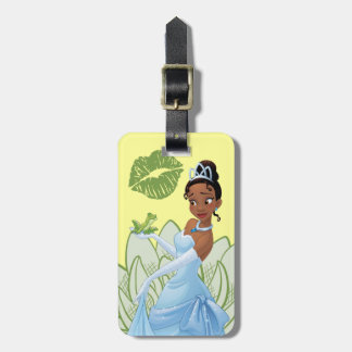 Tiana and the Frog Prince Luggage Tag
