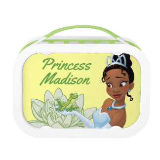 Tiana and the Frog Prince - Personalized Lunch Box