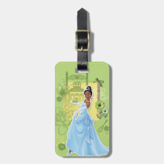 Tiana -  Confident Princess Luggage Tag