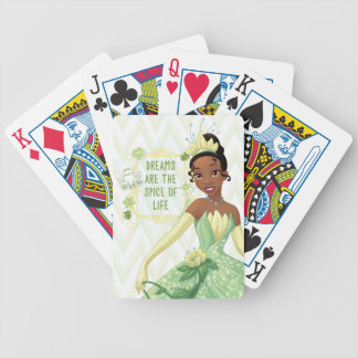 Tiana - Dreams Are The Spice Of Life Bicycle Playing Cards