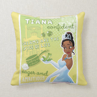 Tiana - Eager and Ambitious Throw Pillow