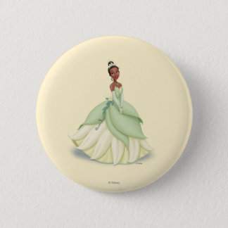 Tiana Green Dress 2 Inch Round Button
