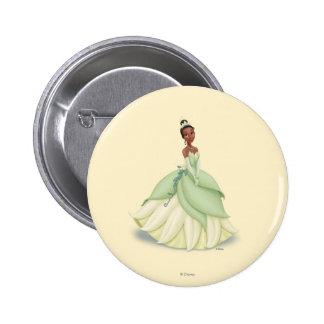 Tiana Green Dress 2 Inch Round Button