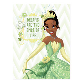 Tiana - les rêves sont l'épice de la vie carte postale