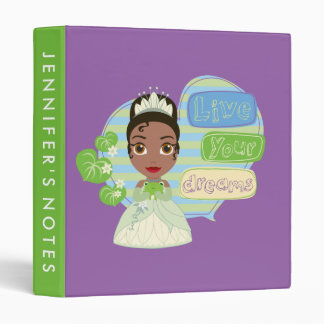 Tiana | Live Your Dreams Binders