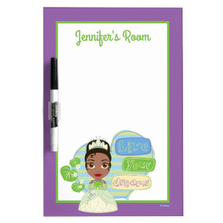 Tiana | Live Your Dreams Dry Erase Whiteboards