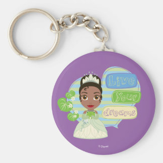 Tiana | Live Your Dreams Keychain