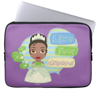 Tiana | Live Your Dreams Laptop Sleeve