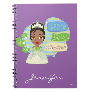 Tiana | Live Your Dreams Spiral Notebooks
