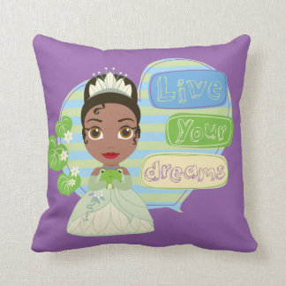 Tiana | Live Your Dreams Throw Pillow