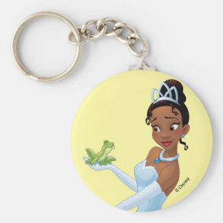 Tiana   Loyalty Is Royalty Basic Round Button Keychain