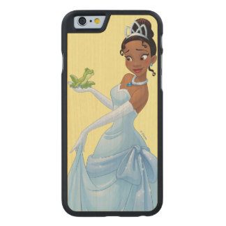 Tiana | Loyalty Is Royalty Carved Maple iPhone 6 Case