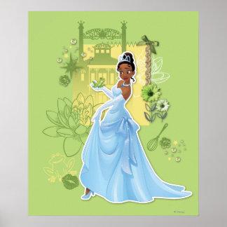 Tiana - princesse sûre affiches