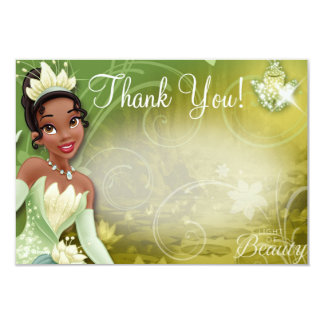 Tiana Thank You Cards