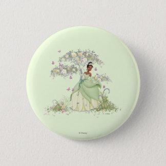 Tiana Under Tree 2 Inch Round Button