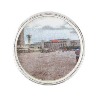 Tianmen square in Beijing Lapel Pin