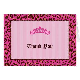 Tiara Thank You Card