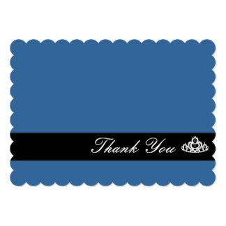 "Tiara Thank You Note Card 5"" X 7"" Invitation Card"
