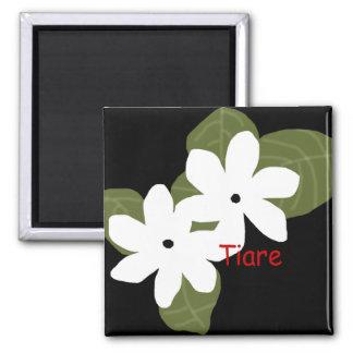 Tiare Tahitian flowers magnet