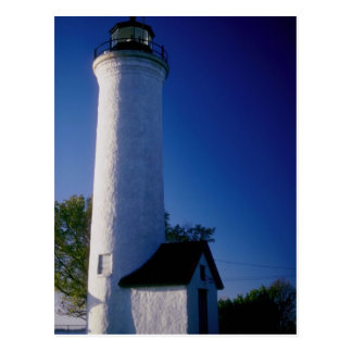 Tibbett's lighthouse postcard