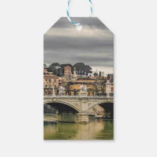 Tiber River Rome Cityscape Gift Tags