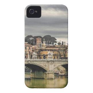Tiber River Rome Cityscape iPhone 4 Cover