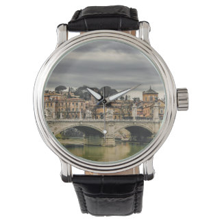 Tiber River Rome Cityscape Watch