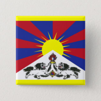 Tibet 2 Inch Square Button