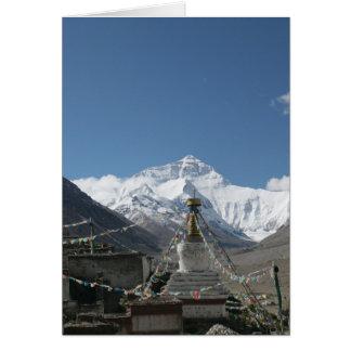 Tibet Everest / Tibet Photo Card