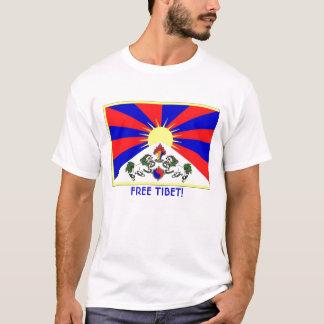 tibet-flag, FREE TIBET! T-Shirt