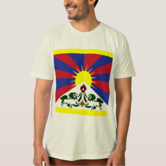 Tibet High quality Flag T-Shirt