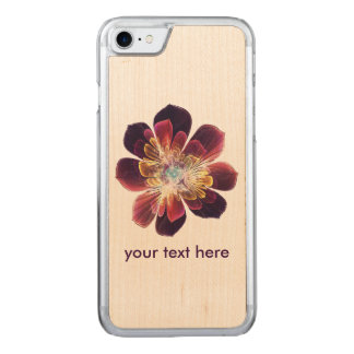 Tibet Sea Flower | iPhone Samsung Wood Carved iPhone 8/7 Case