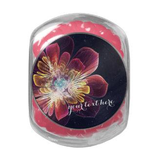 Tibet Sea Flower Jelly Belly Beans Glass Jar