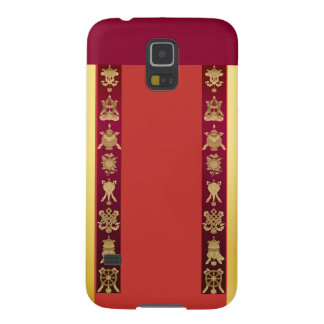 Tibet Tibetan auspicious symbols Cases For Galaxy S5