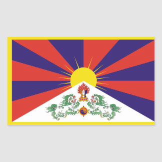 Tibet/Tibetan Flag Sticker