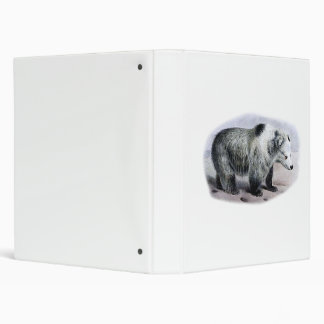 Tibetan Blue Bear Binder