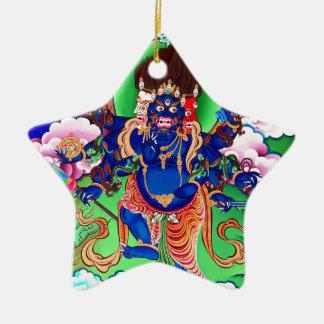 Tibetan Buddhism Buddhist Thangka Ucchusma Ceramic Star Ornament