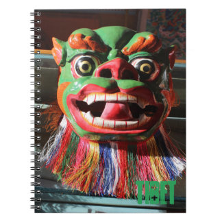 Tibetan Buddhist Festival Mask Notebooks
