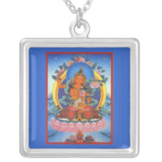 Tibetan Buddhist Image Necklace