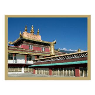 Tibetan Buddhist Monastery Postcard
