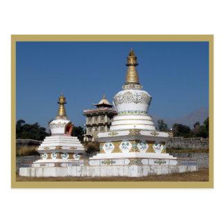 Tibetan Buddhist Stupas Postcard