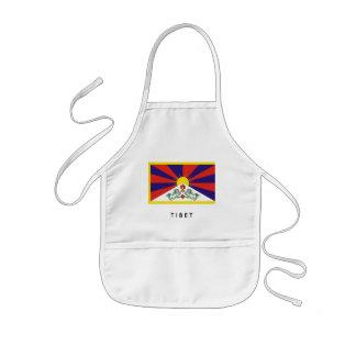 Tibetan flag Apron