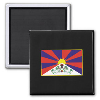 Tibetan Flag T-shirts and Gifts Magnet