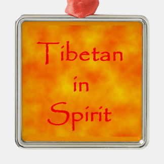 Tibetan in Spirit-prem square ornament