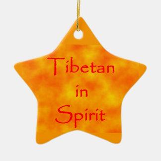 Tibetan in Spirit-star ornament