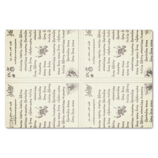 Tibetan Inspired Prayer Flag Design Tissue Paper