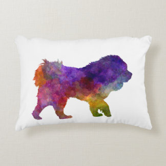 Tibetan Ma in watercolor.png Accent Pillow