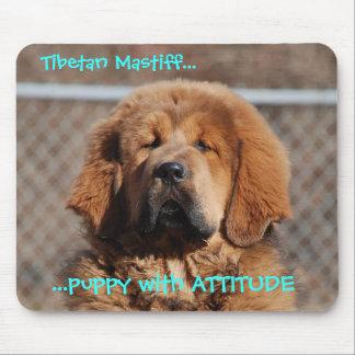 Tibetan Mastiff Attitude Mouse Pad